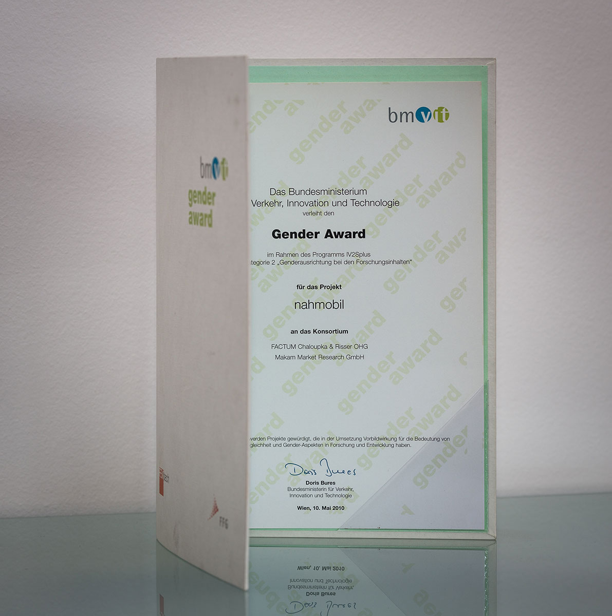 Gender Award